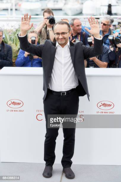 Andrey Zvyagintsev attends the 'Loveless ' photocall during the 70th annual Cannes Film Festival at Palais des Festivals on May 18 2017 in Cannes...