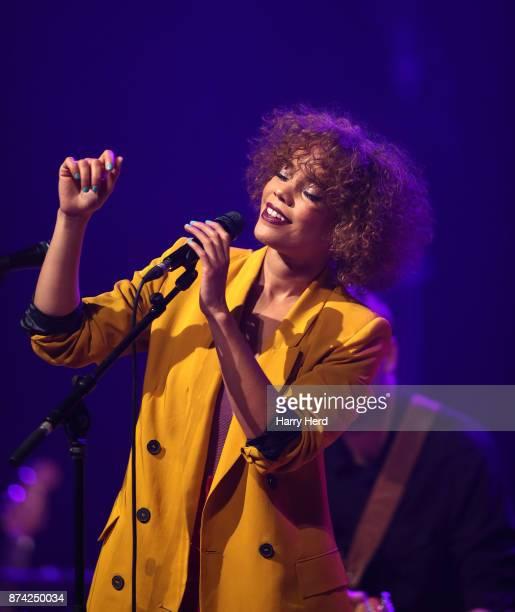Andreya Triana performs at The Anvil on November 14 2017 in Basingstoke England