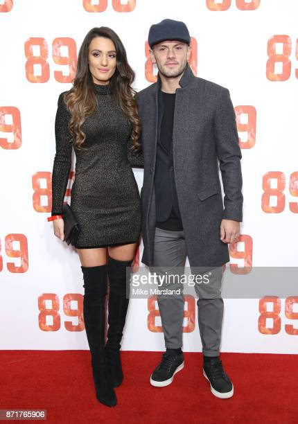 Andriani Michael and Jack Wilshere attend at the '89' World Premiere held at Odeon Holloway on November 8 2017 in London England