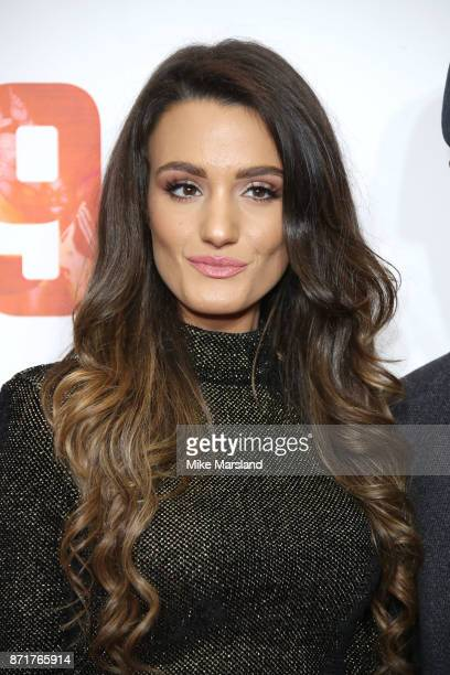 Andriani Michael attends at the 89 World Premiere held at Odeon Holloway on November 8 2017 in London England