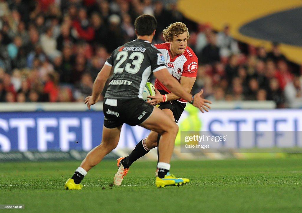 Super Rugby Rd 15 - Lions v Sharks : News Photo