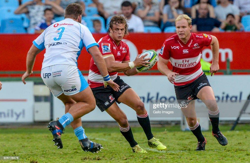Super Rugby Rd 2 - Bulls v Lions : News Photo