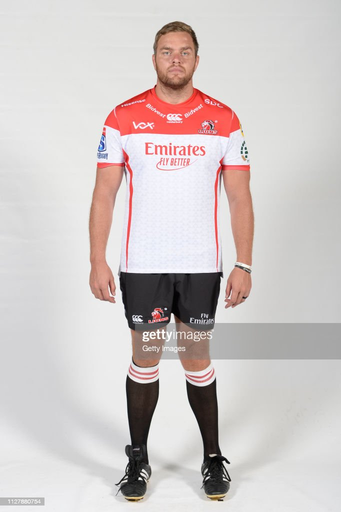 Super Rugby: Emirates Lions Headshots : News Photo