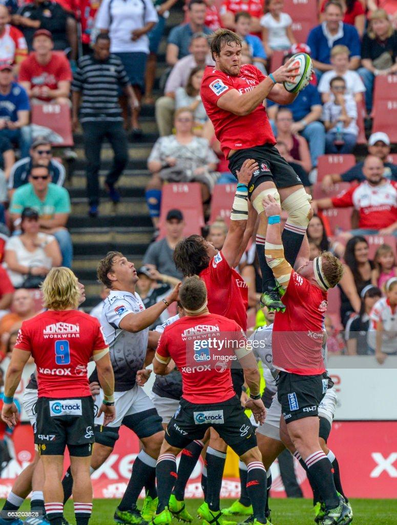 Super Rugby Rd 6 - Lions v Sharks : News Photo