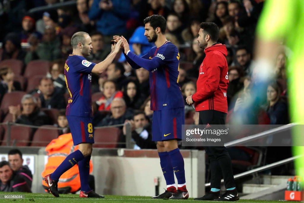 FC Barcelona v Levante - La Liga Santander : ニュース写真