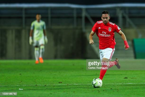 Andrija Zivkovic from SL Benfica during the match between SL Benfica v Lyon for the International Champions Cup Eusebio Cup 2018 at Estadio do...