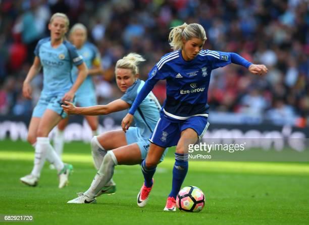 Andrine Hegerberg of Birmingham City LFC during The SSE FA Women's CupFinal match betweenBirmingham City Ladies v Manchester City women at Wembley...