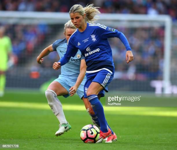 Andrine Hegerberg of Birmingham City LFC during The SSE FA Women's CupFinal match between Birmingham City Ladies v Manchester City women at Wembley...