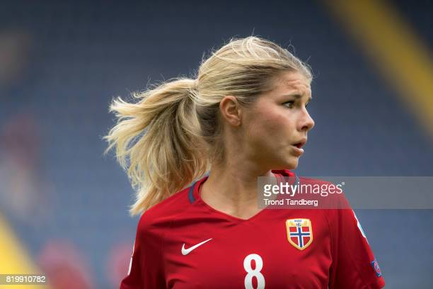Andrine Hegerberg of Norway during the UEFA Womens Euro 2017 between Norway v Belgium at Rat Verlegh Stadion on July 20 2017 in Breda Netherlands