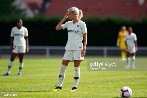 Andrine Hegerberg of PSG during Ligue 1 match between Fleury and Paris Saint Germain PSG on August 25 2018 in FleuryMerogis France