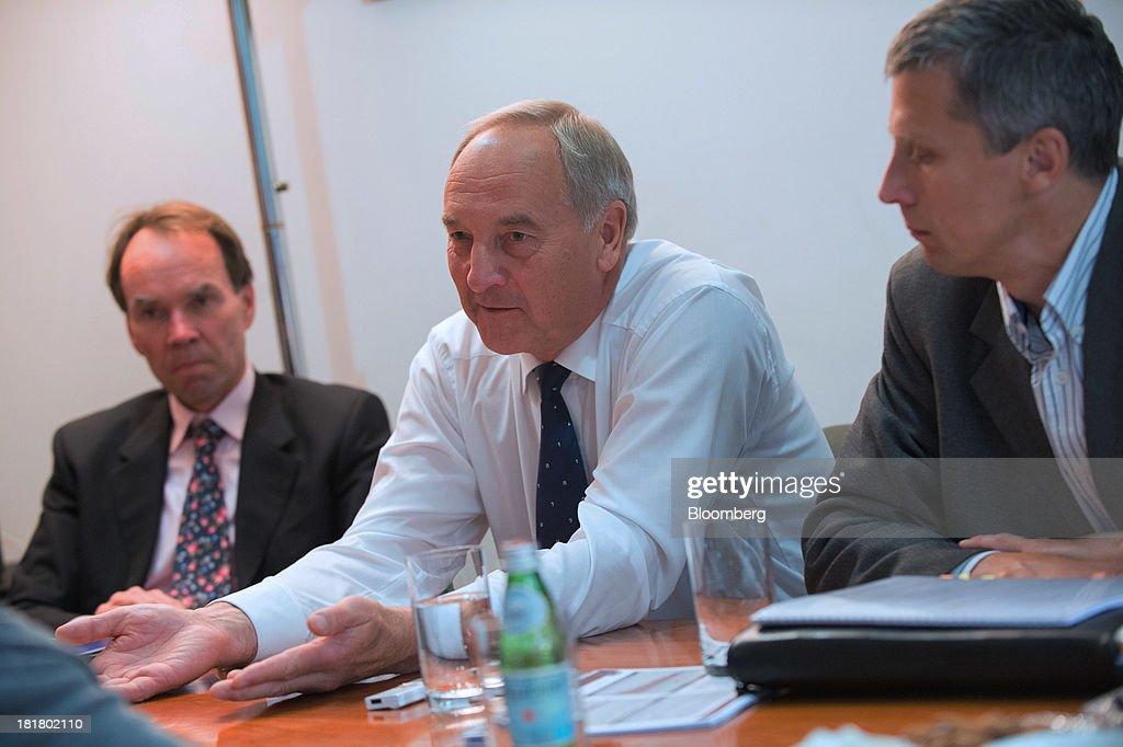 Latvia President Andris Berzins Interview