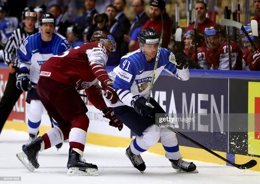 Latvia v Finland - 2018 IIHF Ice Hockey World Championship