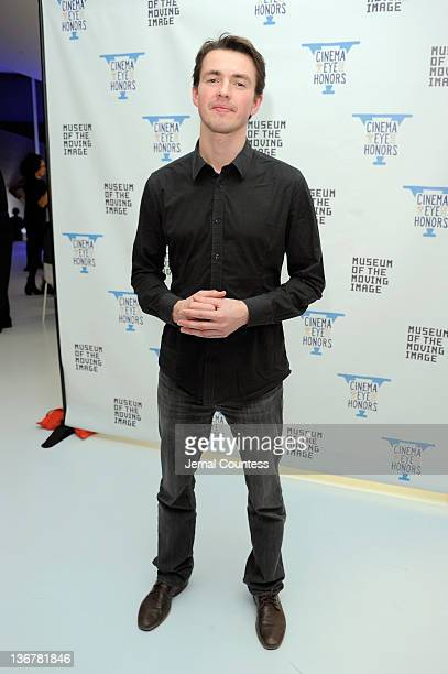 Andris Gauja attends the 5th Annual Cinema Eye Honors for Nonfiction Filmmaking at the Museum of the Moving Image on January 11 2012 in the Queens...