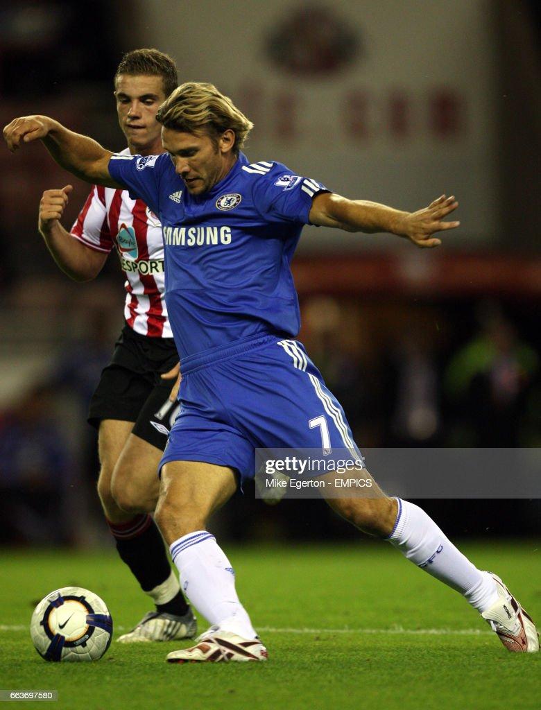 Soccer - Barclays Premier League - Sunderland v Chelsea - Stadium Of Light : News Photo