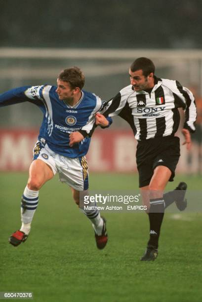 Andriy Shevchenko Dynamo Kiev and Paolo Montero Juventus
