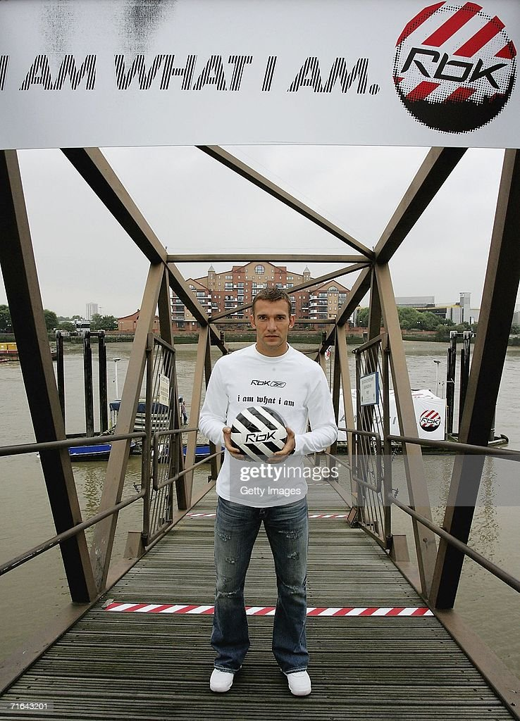 Reebok/Andriy Shevchenko Launch : News Photo