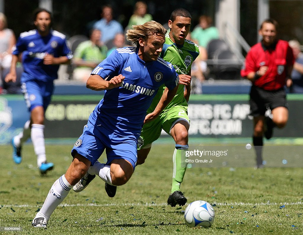 Chelsea FC v Sounders FC : News Photo