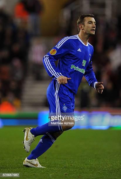 Andriy Shevchenko of Dynamo Kiev