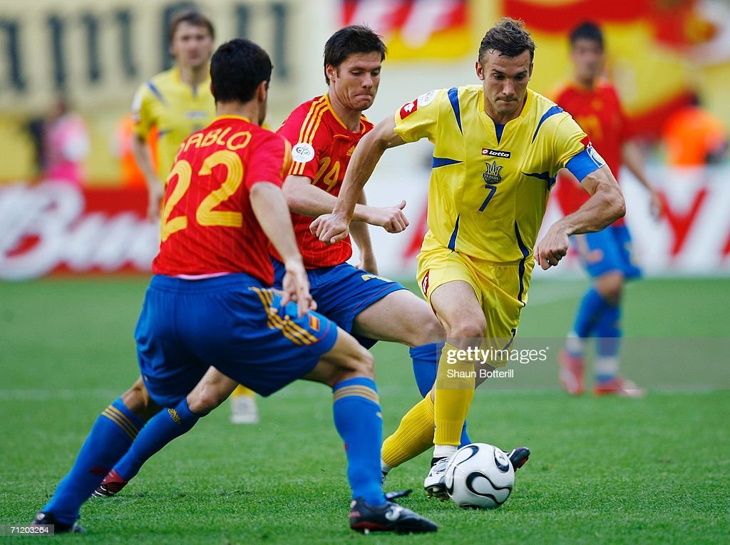 Group H Spain v Ukraine - World Cup 2006 : News Photo