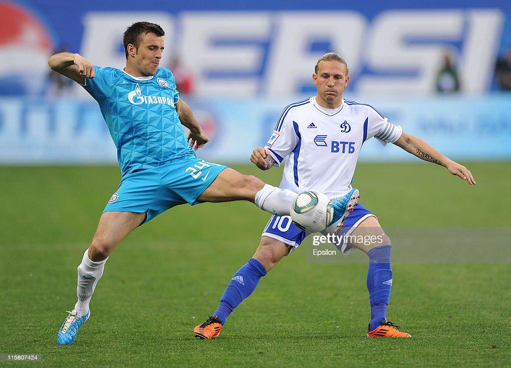 FC Dinamo Moscow v FC Zenit St Petersburg - Premier League