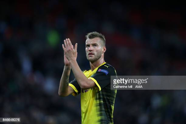 Andriy Yarmolenko of Borussia Dortmund during the UEFA Champions League group H match between Tottenham Hotspur and Borussia Dortmund at Wembley...