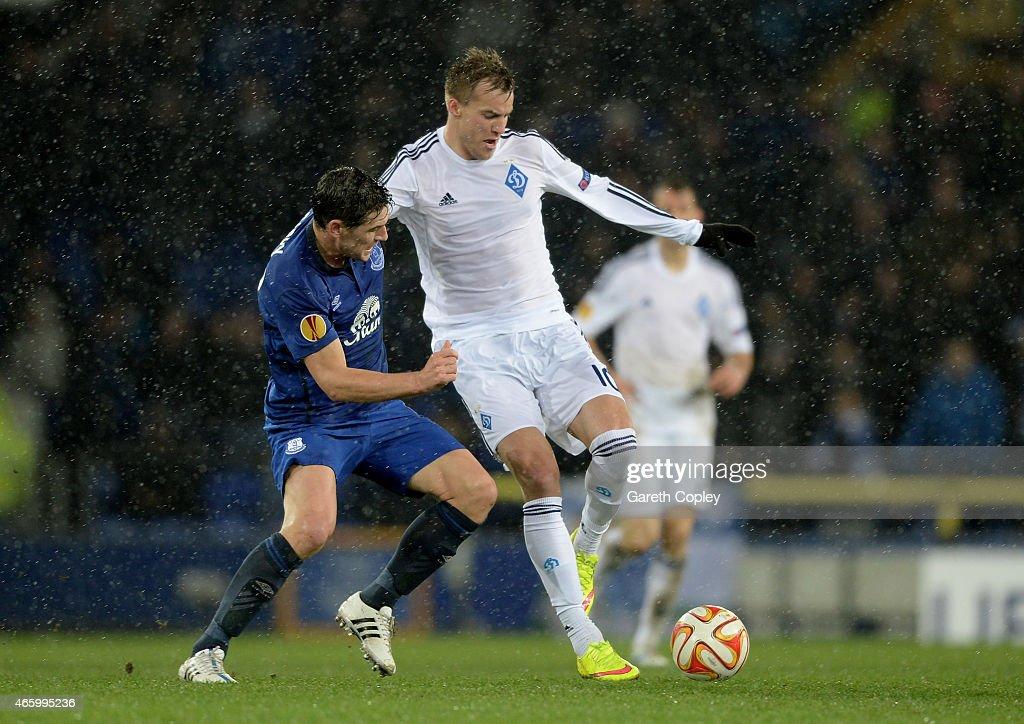 Everton FC v FC Dynamo Kyiv - UEFA Europa League Round of 16 : News Photo
