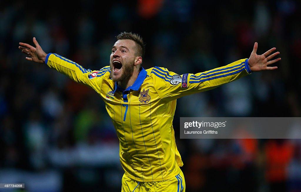 Slovenia v Ukraine - UEFA EURO 2016 Qualifier: Play-Off Second Leg : News Photo