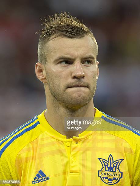 Andriy Yarmolenko of Ukraine during the UEFA EURO 2016 Group C group stage match between Germany and Ukraine at the SStade Pierremauroy on june 12...