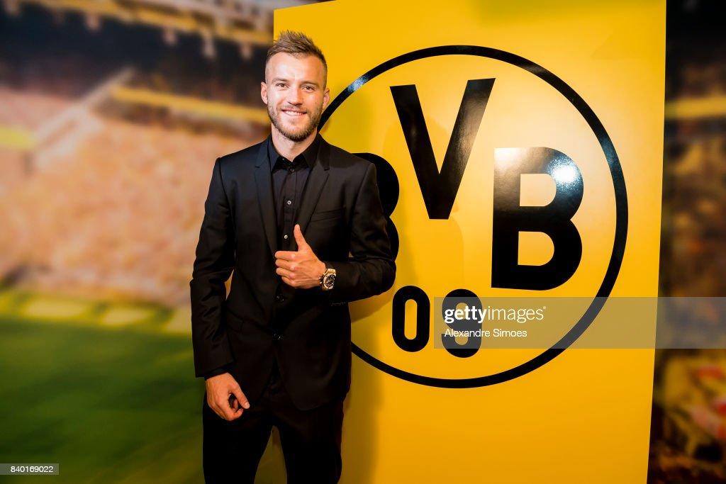 Borussia Dortmund Unveils New Signing Andriy Yarmolenko