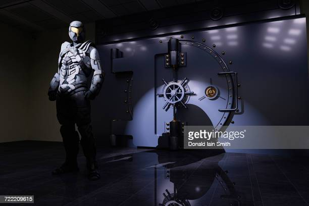 Android guarding vault