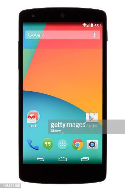 Android 電話のホーム画面
