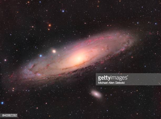 andromeda - nebula stock pictures, royalty-free photos & images