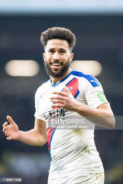 Andros Townsend of Crystal Palace during the Premier League match between Burnley FC and Crystal Palace at Turf Moor on November 30 2019 in Burnley...