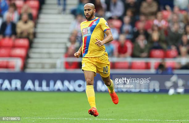 Andros Townsend of Crystal Palace during the Premier League match between Sunderland and Crystal Palace FC on September 24 2016 in Sunderland England
