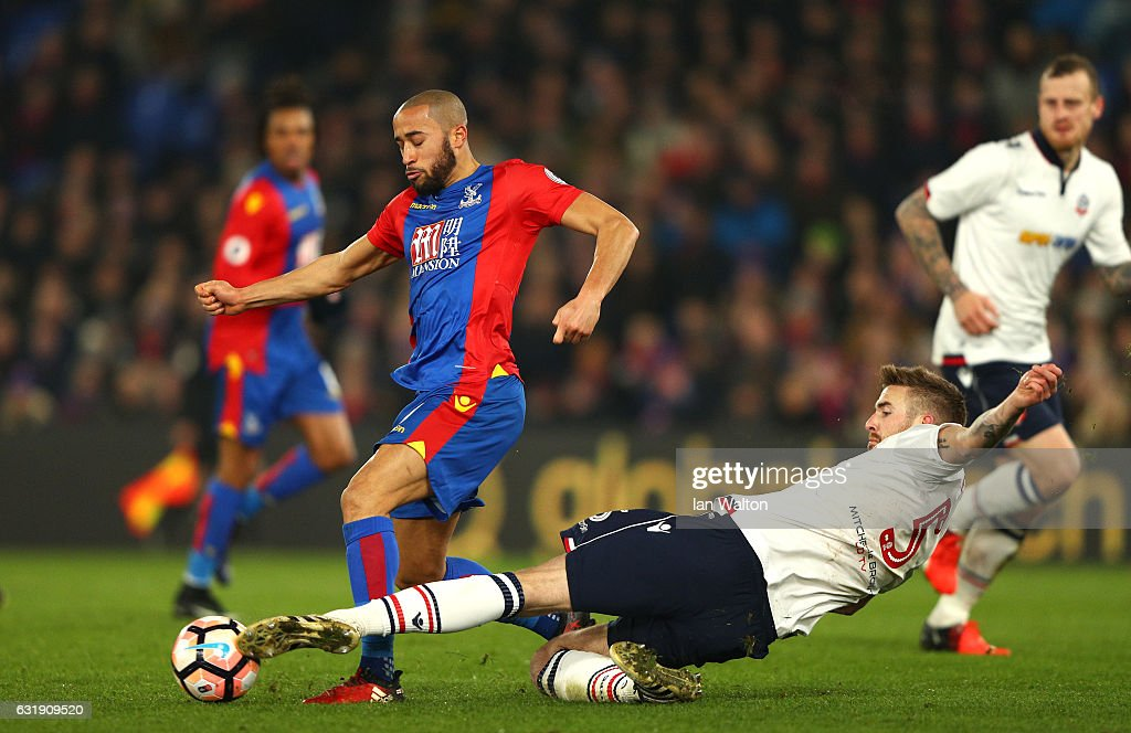 Crystal Palace v Bolton Wanderers - The Emirates FA Cup Third Round Replay : News Photo