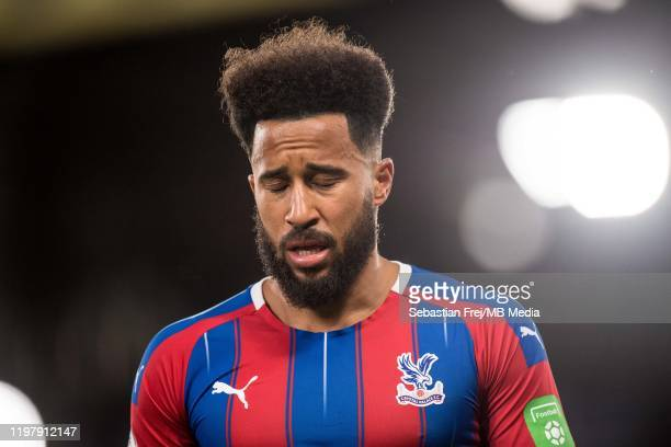 Andros Townsend of Crystal Palace reaction during the Premier League match between Crystal Palace and Sheffield United at Selhurst Park on February 1...