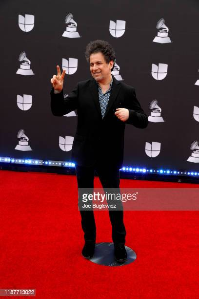 Andrés Calamaro attends the 20th annual Latin GRAMMY Awards at MGM Grand Garden Arena on November 14 2019 in Las Vegas Nevada