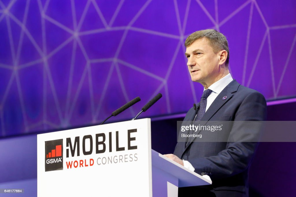 The Second Day Of The Mobile World Congress