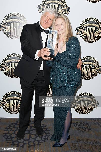 Andrzej Bartkowiak and singersongwriter Barbra Streisand attend the American Society Of Cinematographers 29th Annual Outstanding Achievement Awards...