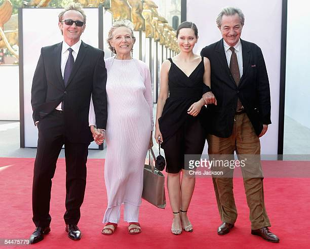 Andrzej Chyra Victoria Zinny Maria Bekker and Remo Girone at the premiere for the in competition film Persona Non Grata on the fifth day of the 62nd...