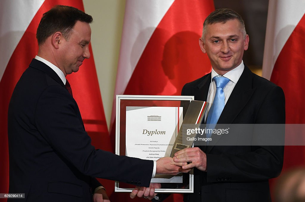 'Dla Dobra Wspolnego' President's Award Gala in Warsaw : Nachrichtenfoto