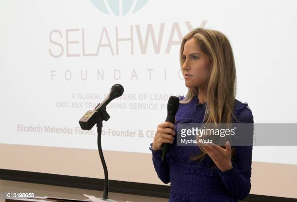 Andy Adler of PIX 11 News attends the Selah Way Foundation Luncheon at Wells Fargo 42nd St on August 8 2018 in New York City