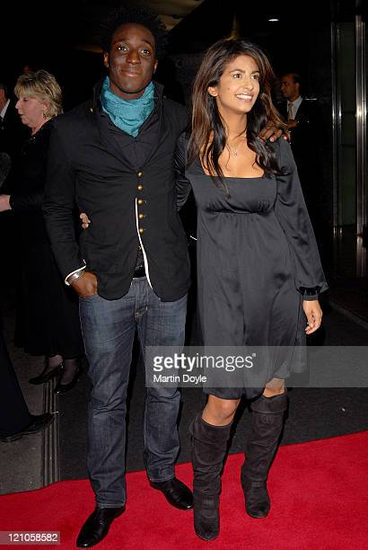 Andy Akinwolere and Konnie Huq arrive at the 12th British Academy Children's Awards at the London Hilton Park Lane on November 25 2007 in London...