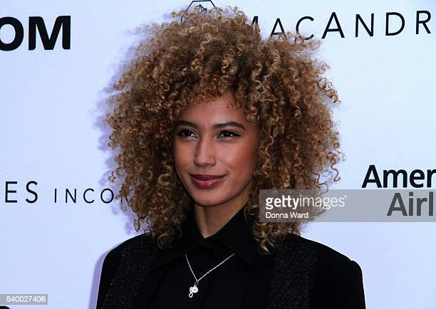 Andy Allo attends the Apollo Theater11th Annual Spring Gala at The Apollo Theater on June 13 2016 in New York City