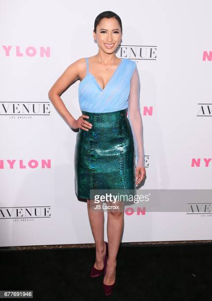 Andy Allo attends the NYLON Young Hollywood Party at AVENUE Los Angeles on May 2 2017 in Los Angeles California