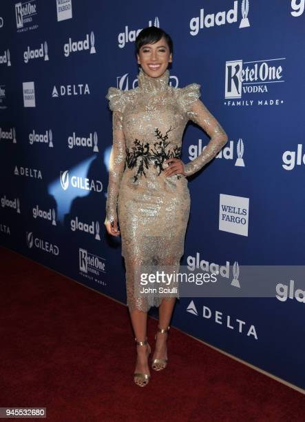 Andy Allo celebrates achievements in LGBTQ community at the 29th Annual GLAAD Media Awards Los Angeles in partnership with LGBTQ ally Ketel One...