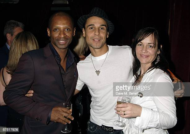 Andy and Denise Abrahams and Chico Slimani attend the Chicago The Musical celebrity party to celebrate the West End transfer of the popular musical...
