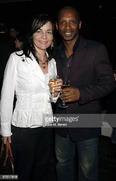 Andy and Denise Abrahams attend the Chicago The Musical celebrity party to celebrate the West End transfer of the popular musical to the Cambridge...