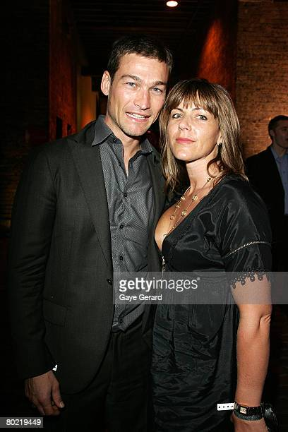Andy and Vashti Whitfield attend the after show party following the 2008 Movie Extra FilmInk Awards at The Argyle on March 12 2008 in Sydney...