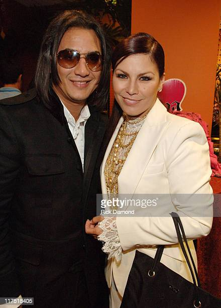 Andy Andy and Olga Tanon during 2006 Billboard Latin Music Conference and Awards Backstage Creations Talent Retreat Day 2 at Seminole Hard Rock Hotel...